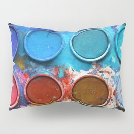 Paintbox Palette Pillow Sham