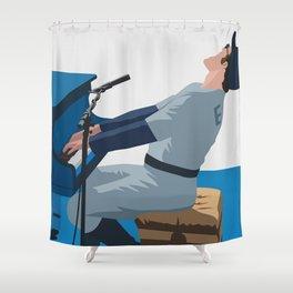 Blue John Shower Curtain