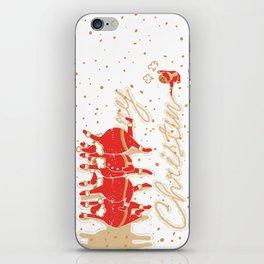 Santa Claus & Me iPhone Skin