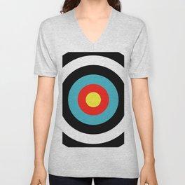 Target (Archery) Unisex V-Neck