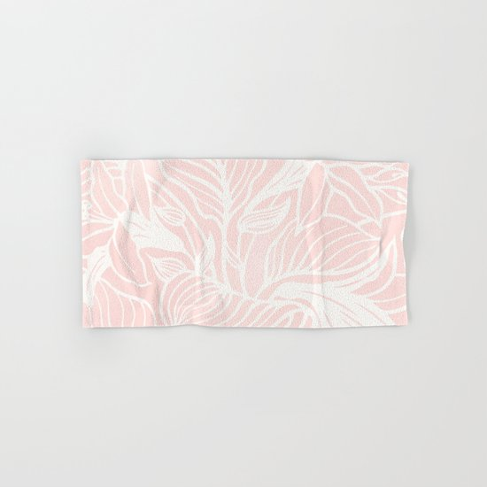 Blush Pink Coral Floral Garden by beautifulhomes