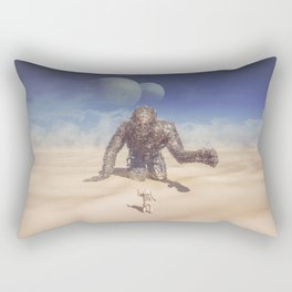 Wandering in the Desert Rectangular Pillow
