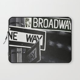One Way to Broadway Laptop Sleeve