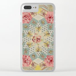 Tessellations Quilt Clear iPhone Case