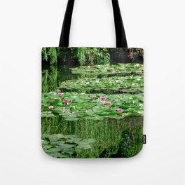 Monet's Lilies Tote Bag