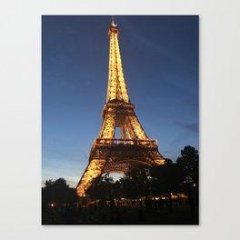 Nightlife of Paris Canvas Print