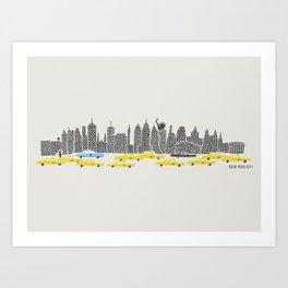 New York City Panoramic Art Print