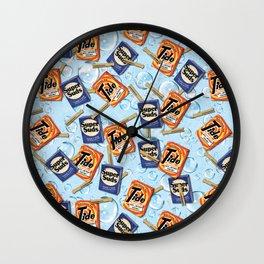 Retro Laundry Room Wall Clock