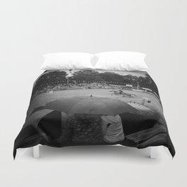 Mud Racer Duvet Cover