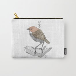 Chestnut Pitta Carry-All Pouch