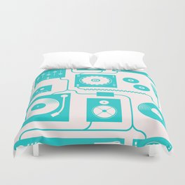 Electronica Duvet Cover