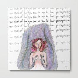 Bare Perception Metal Print