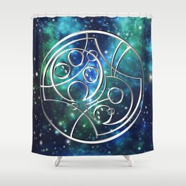 Galactic Don't Blink Shower Curtain