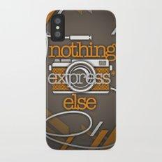 Express iPhone X Slim Case