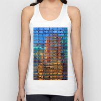 buildings Tank Tops featuring Buildings in Buildings by davehare