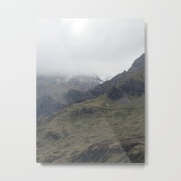There be Mountains Metal Print