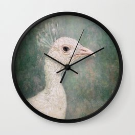The Little White Queen Wall Clock
