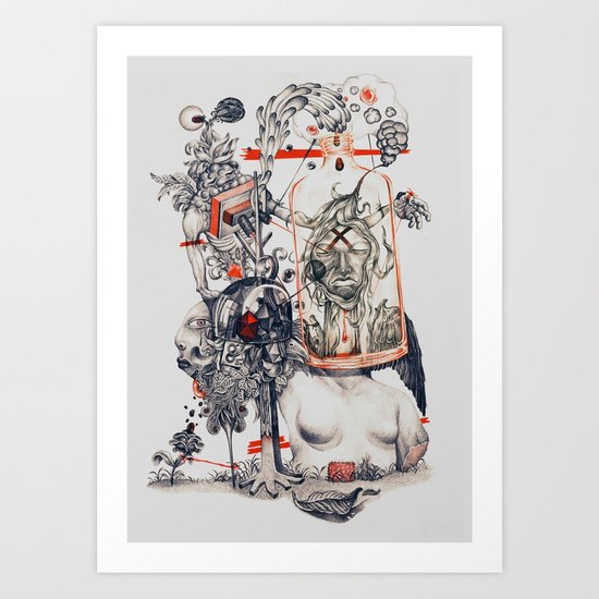 """untitle""  Art Print"