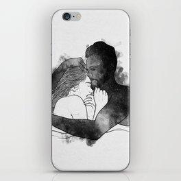 The hug. iPhone Skin