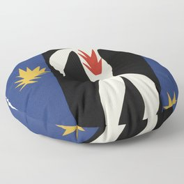 Henri Matisse The fall of Icarus (La Chute d'Icare) from Jazz Collection, 1947, Artwork, Men, Women, Floor Pillow
