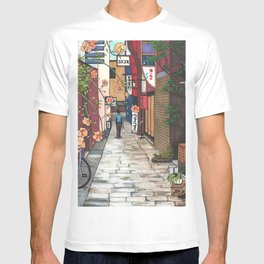 Flowers in an Alley T-shirt