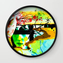 In Back Wall Clock