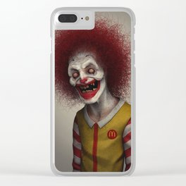 Ronald McDonald Clear iPhone Case