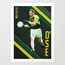GAA Posters – Tomas O'Se Art Print