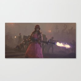 Last Stand Canvas Print