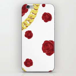 "Rose ""White"" iPhone Skin"