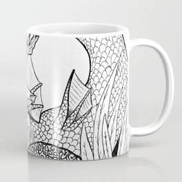 Mermaid rock Coffee Mug