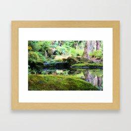 Senganen Gardens Framed Art Print