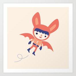 Bat Boy Art Print