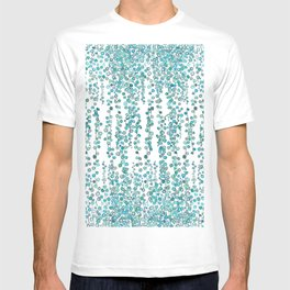 string of pearl watercolor T-shirt
