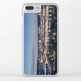 Würzburg Skyline Clear iPhone Case