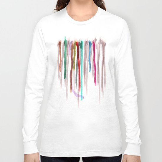 Rainbow Drops of Joy Pride Long Sleeve T-shirt