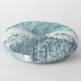 Saltwater Feelings Ocean Surf Floor Pillow