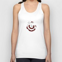 shield Tank Tops featuring Cap's Shield by George Hatzis