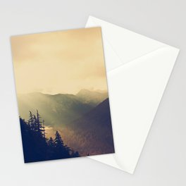 Sunrise over the Mountians Stationery Cards