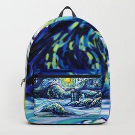 Tardis Lost In The Middle Wave Backpack