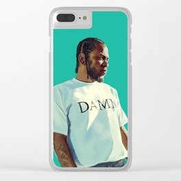 KENDRICK, DAMN. Clear iPhone Case