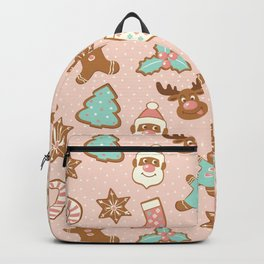 Christmas gingerbreads Backpack
