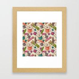 I Am Crafty Framed Art Print