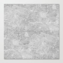Gray Concrete Canvas Print