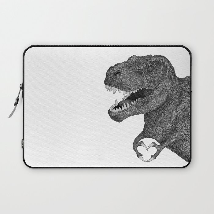 Dino Love Laptop Sleeve