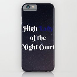 Sarah J. Maas - A Court of Thorns and Roses series iPhone Case
