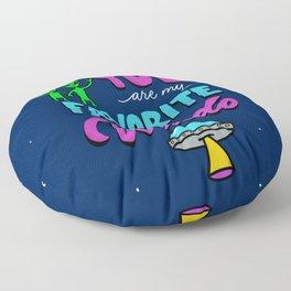 You Are My Favorite Weirdo Floor Pillow