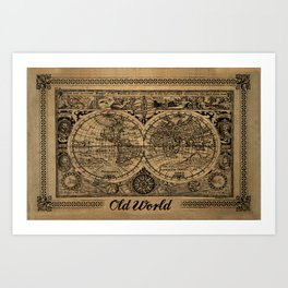 Old World Art Print