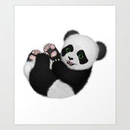 Baby Panda Bear Art Print