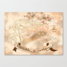 WINDS OF CHANGE. Canvas Print